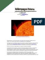 Relámpagos Solares