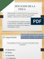 PLANIFICACION DE LA FINCA