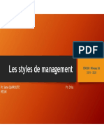 Styles de Management