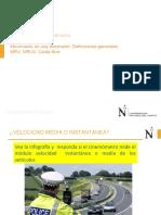 CINEMATICA MRU, MRUV, Caída libre y Mov. Parabólico