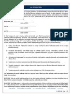 Phillip - LLC Resolution Form
