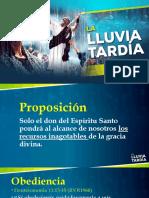 La Lluvia Tardía - Presentación en Powerpoint