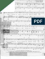 Sugartime [piano sheet music]