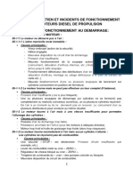 05-INCIDENTS DE FONCTIONNEMENT DEMARRAGE