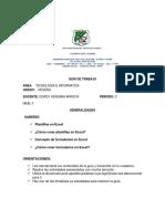 GUIA  DE INFORMATICA 9 GRADO