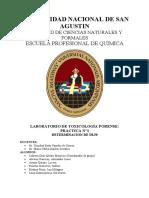 Informe 1 Toxicologia ambiental