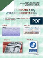 CLASE N° 5_ Textos literarios y no literarios_EJERCITACIÓN