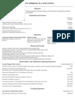 weebly curriculum vitae  cv  leadership 2020-2021 resume