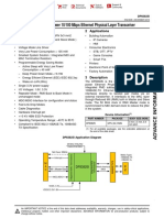 Ethernet Physical Layer Transceiver - TI DP83825I