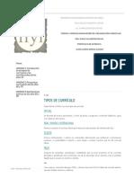 Tipos de curriculo - Teorías y Modelos Innovadores de Organización Curricular