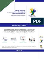 Interpretação Remota para Língua de Sinais - UFGD 2020