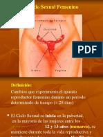 Fisiologia de la Reproduccion y Ciclo Sexual Femenino. Dr. Luis Olivares