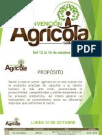 Agenda Convención Agrícola INTECAP