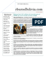 Hidrocarburos Bolivia Informe Semanal Del 31 Enero Al 06 Febrero 2011