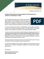 EPI CAMBIO RODOVIARIO TURNO 7X7 ANTOFAGASTA