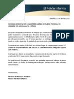 EPI CAMBIO RODOVIARIO TURNO 7X7 ANTOFAGASTA 13-04-2020