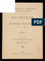 Évangiles avec des peintures byzantines du XIe siècle ~ Reproduction des 361 miniatures du Par. gr. 74 ^ 1