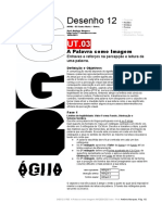 DES12 UT03 a Palavra Como Imagem AM 2020-2021