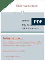 Friend Finder Application