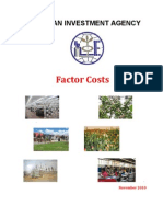 Ethio Invest FACTOR COSTS