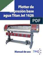 Manual de uso 1626 español