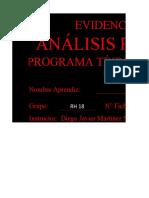 Actividad Análisis de perfil del Cargos