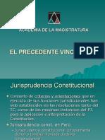 Precedente constitucional 9 junio