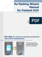 Pantech DUO - Re-flashing Wizard Manual
