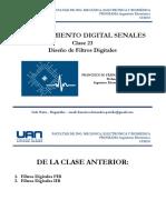 23 Procesamiento Digital de Senales - Diseño de Filtros Digitales