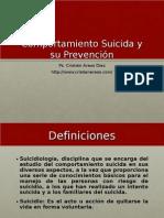 Introducción a la Suicidiología - Psicólogo Forense, Cristián Araos Diaz.