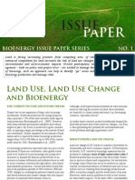 Issue Paper - Land Use and Bioenergy