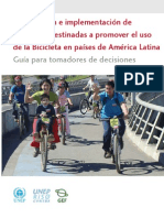 Campaigns to Promote Bicycle Use in Latin America SPA (2010)