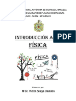 INTRODUCCION A LA FISICA