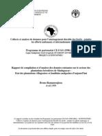 Rapport de compilation et d'analyse des données existantes sur le secteur des plantations forestières de Madagascar