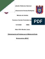 Informe BCA