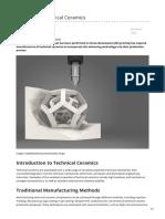 azom.com-3D Printed Technical Ceramics