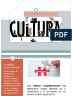 Tipos de cultura organizacional y sus características
