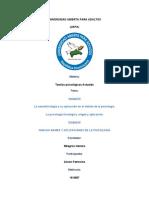 Unidad IV Nuevas Ramas y Aplicaciones de la Psicologia +Unidad III  Teorias Psicologicas Actuales..docx