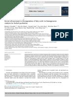 Recent advancement in deoxygenation of fatty acids via homogeneous catalysis for biofuel production