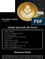Prezentarea Firmei - Radu Ștefan
