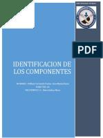 Identificacion de los componente1