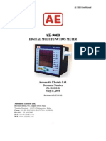 ae 9000 users manual with printer interface pdf ac power byte rh scribd com Owner's Manual Operators Manual