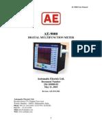 AE 9000 USERS MANUAL
