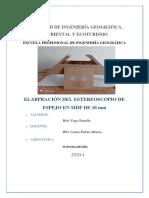 ELABORACIÓN DE ESTEREOSCOPIO CASERO 2