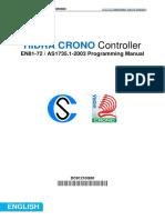 Hidra CRONO - EN81-72  AS1735_1-2003 - configuration guide - en