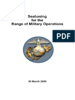 Seabasing for the Range of Military Operations