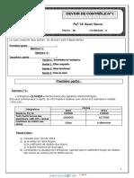 Devoir de Contrôle N°1 - Gestion - Bac Economie & Gestion (2013-2014) Mr baccari mansour.pdf