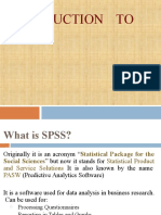 7. Introduction to SPSS and use of Softwares.pptx