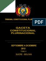 TRIBUNAL CONSTITUCIONAL TOMO II