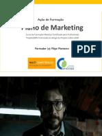 Sessão 1 - UFCD de Plano de Marketing